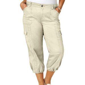 Stonewall Cargo Capri Pants sz 24W